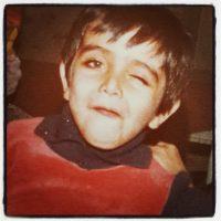عکس کودکی امین زندگانی