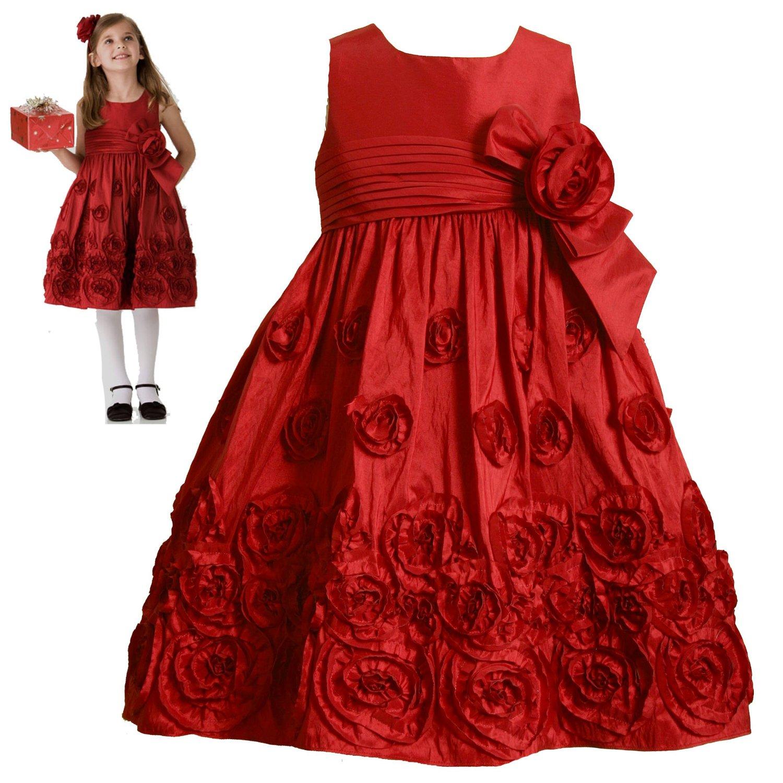 مدل پیراهن عروسکی بچه گونه