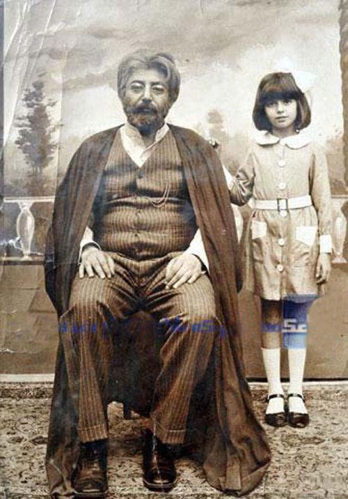 لیلا حاتمی,عکسهای جالب از کودکی لیلا حاتمی,لیلا حاتمی در فیلم کمال الملک