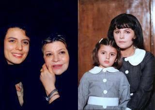 لیلا حاتمی,عکسهای جالب از کودکی لیلا حاتمی,لیلا حاتمی و مادرش