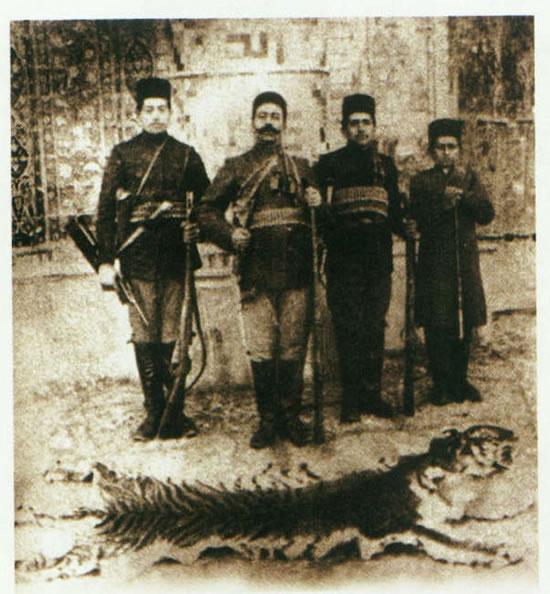 تاریخچه ببر سیبری ببر مازندران