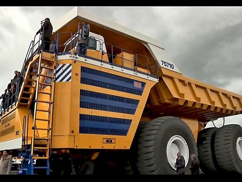 بزرگترین کامیون جهان