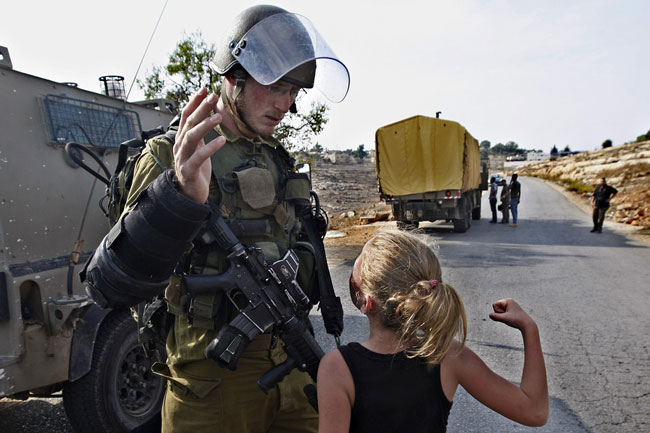دختر بچه فلسطینی