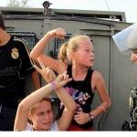 عکس جالب از دختر بچه فلسطینی