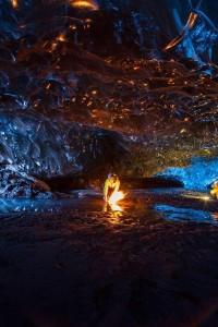 غار یخی در ایسلند (4)