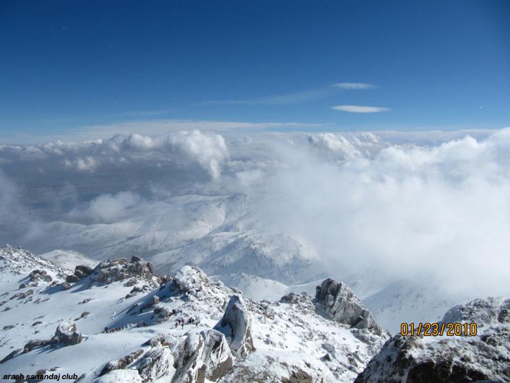 عکسهای جالب ومطالب خواندی از کوه الوند