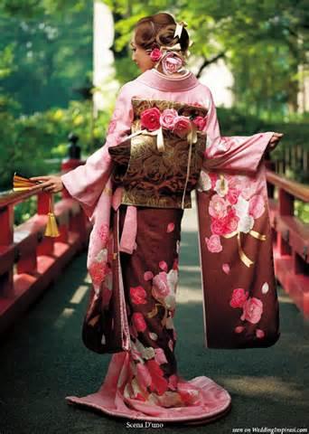 عکس و مطلب از کیمونو لباس سنتی ژاپن