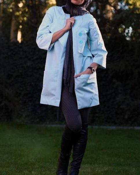 مدل مانتو 2015 دخترانه