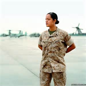 سربازان زن امریکای