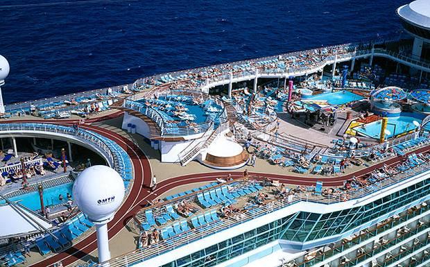 عکس و مشخصات بزگترین کشتی تفریحی دنیا