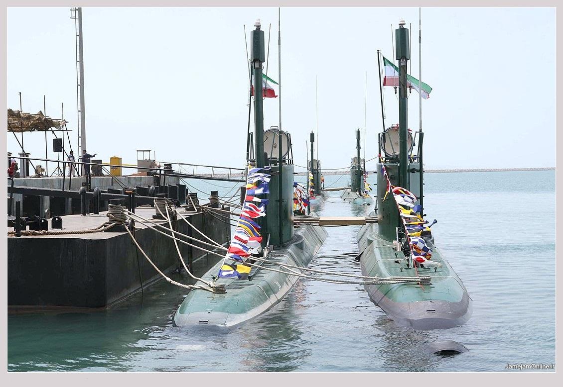 اشنای با ناوگان زیر دریای ایران