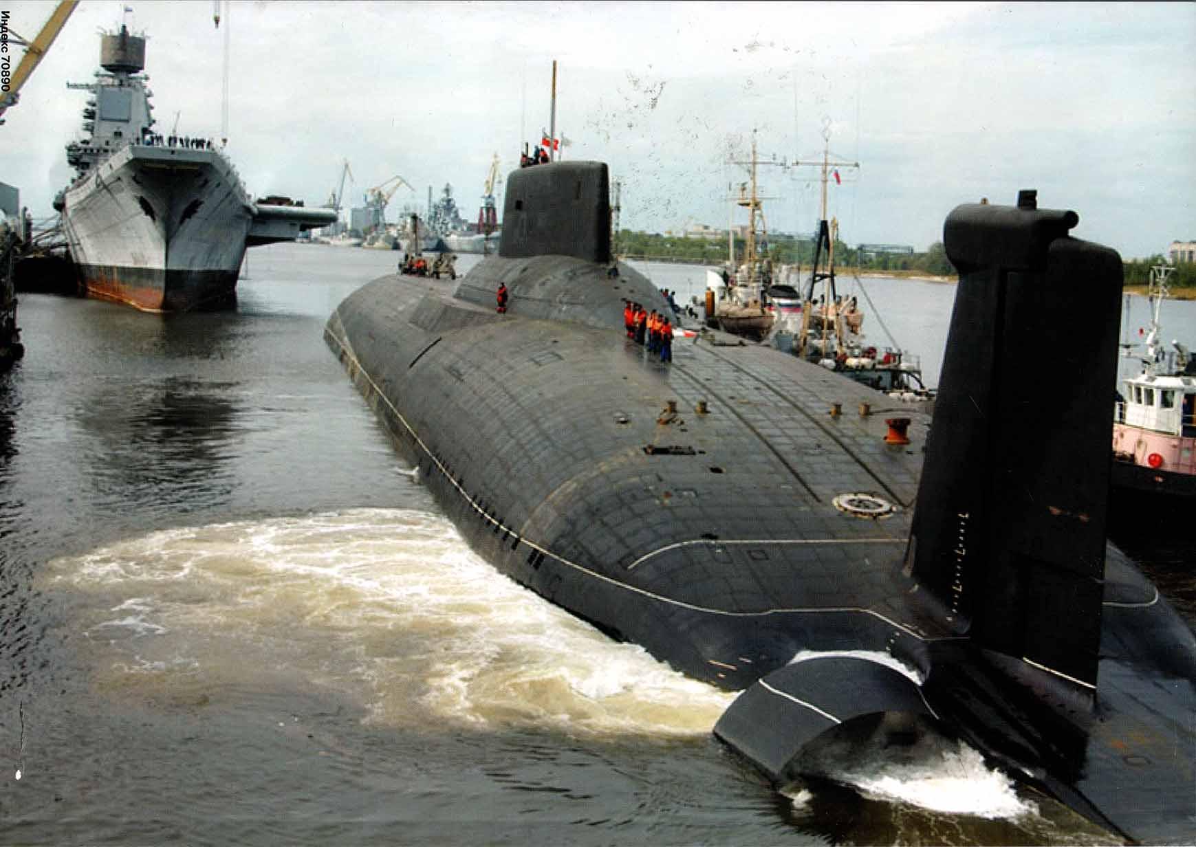 بزرگترین زیر دریایی هستهای جهان