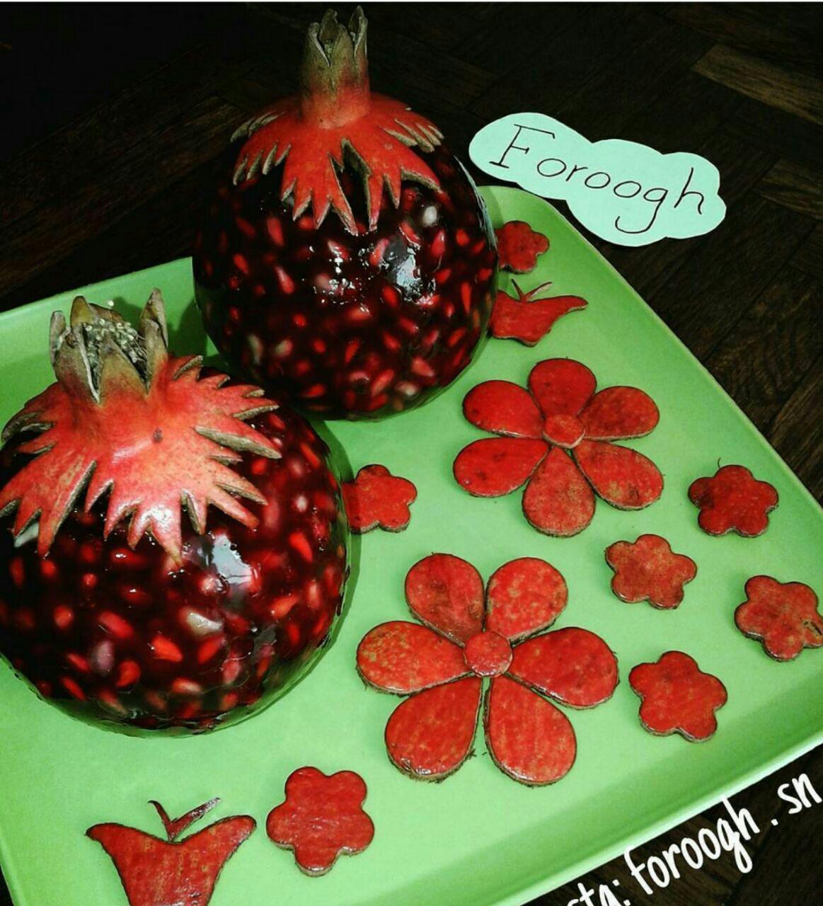 جدیدترین مدل تزیین ژله / تزیین ژله با میوه