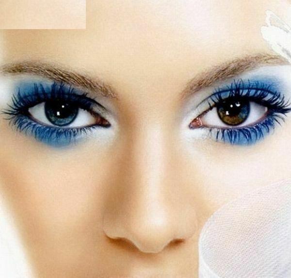 مدل ارایش چشم عروس اروپایی 2015