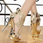 جدیدترین مدل کفش مجلسی 2015 پاشنه بلند