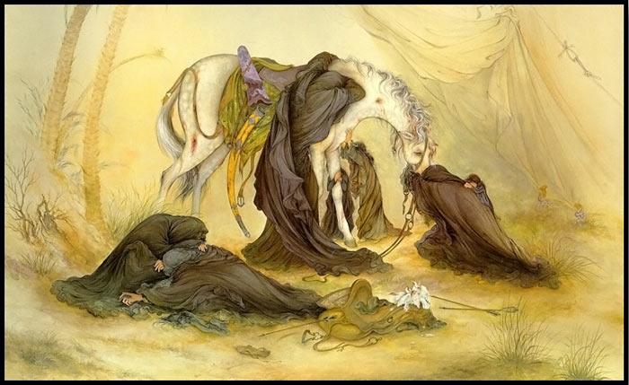 البوم مینیاتور استاد محمود فرشچیان