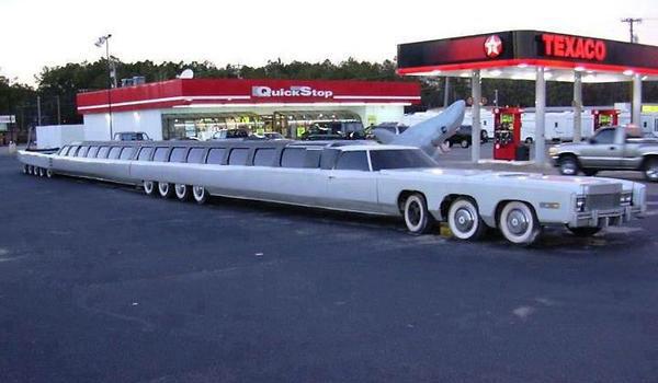 دراز ترین ماشین دنیا