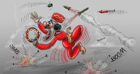 کاریکاتور چهار شنبه سوری عید 94