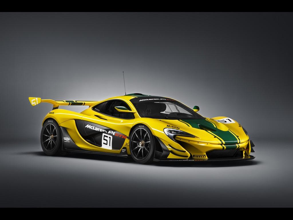 مک لارن P1 GTR