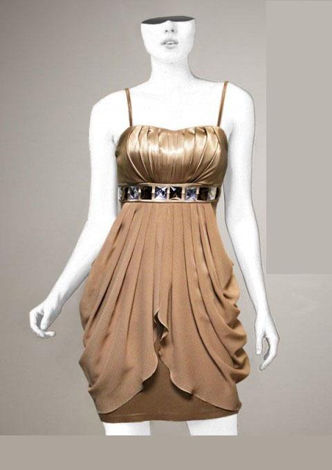 شیک ترین مدل لباس مجلسی 2015 کوتاه