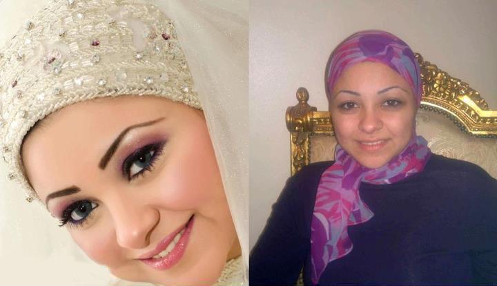 عکس های قبل و بعد از ارایش عروس