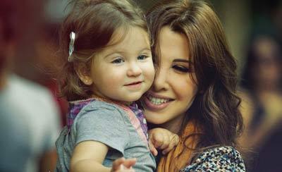 عکس های زیبا از مایل و الا دختران نانسی عجرم