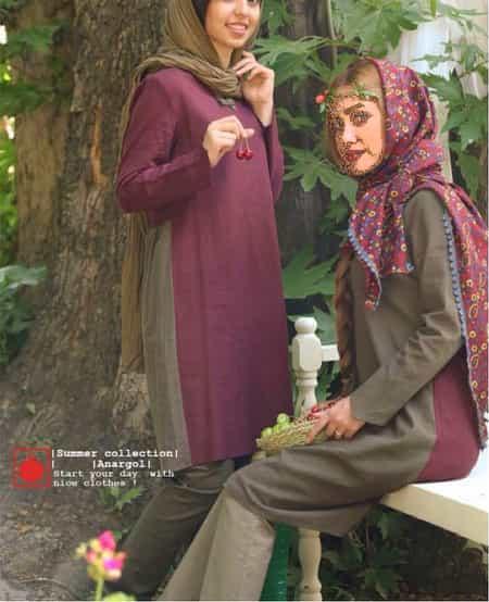 شیک ترین مدل مانتو تابستانه از برندهای ایرانی