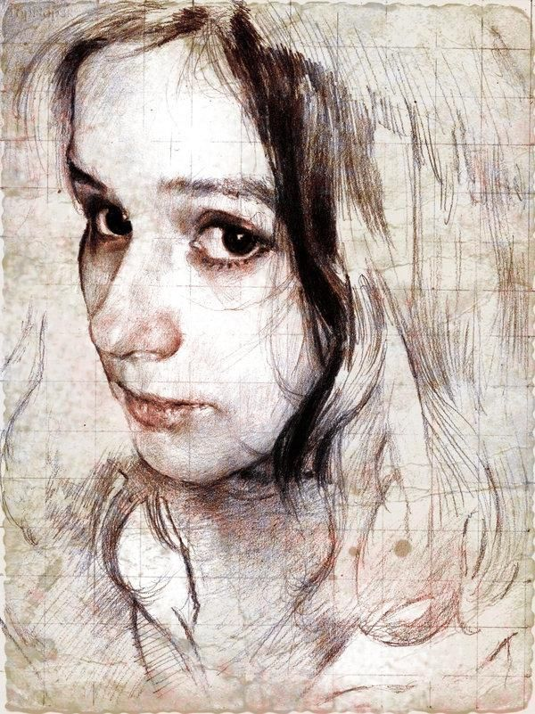 نقاشی های زیبایی دخترونه