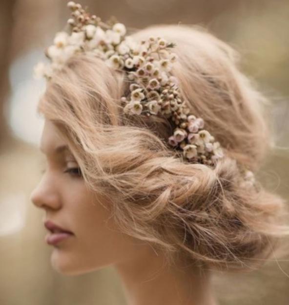 جدیدترین مدل مو عروس 2015
