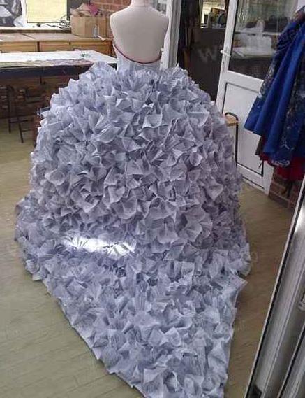 عجیب ترین لباس عروس دنیا