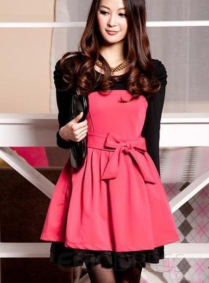 لباس مجلسی دخترانه 2015 کره ای