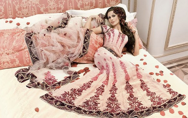 مجموعه ای از انواع مدل لباس هندی