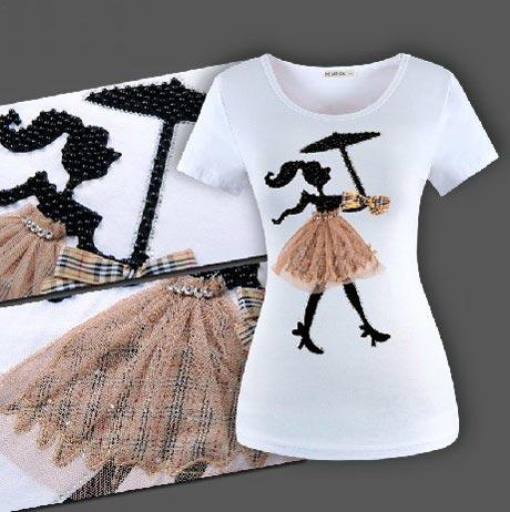 گالری مدل تی شرت 2018 زنانه و دخترانه