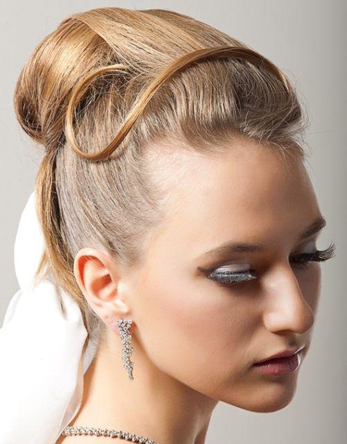 Image result for مدل شینیون پرنسسی