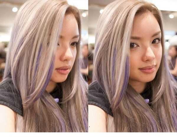 مدل رنگ مو هایلایت اینستاگرام