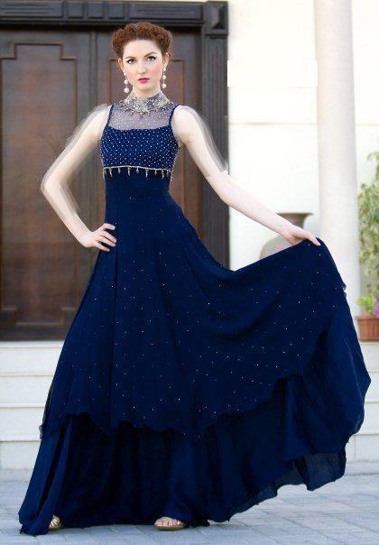 زیباترین مدل لباس مجلسی 2015 نسبتا پوشیده