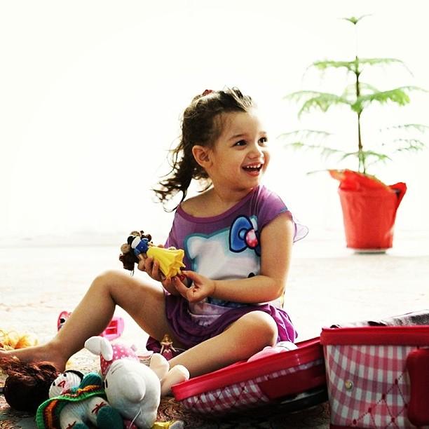 عکس های زیبای بارانا دختر بنیامین بهادری