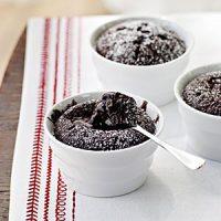 کیک هات چاکلت دسری رمانتیک