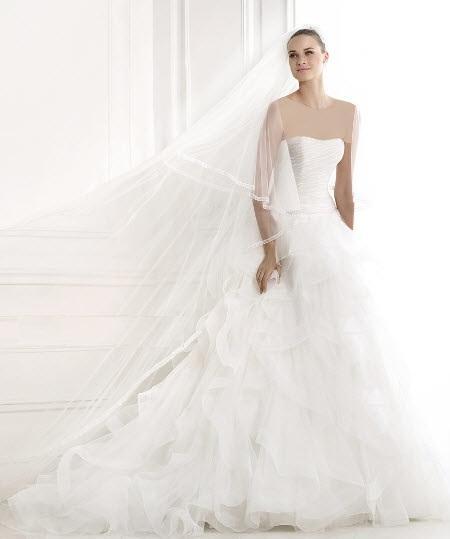 گالری عکس زیباترین مدل لباس عروس اروپایی 2015
