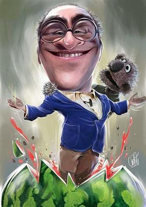 کاریکاتوربامزه از رامبد و جناب خان خندوانه