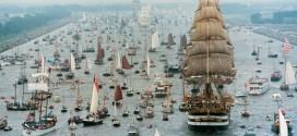 عکس های دیدنی از جشنواره قایق رانی روی رودخانه امستردام