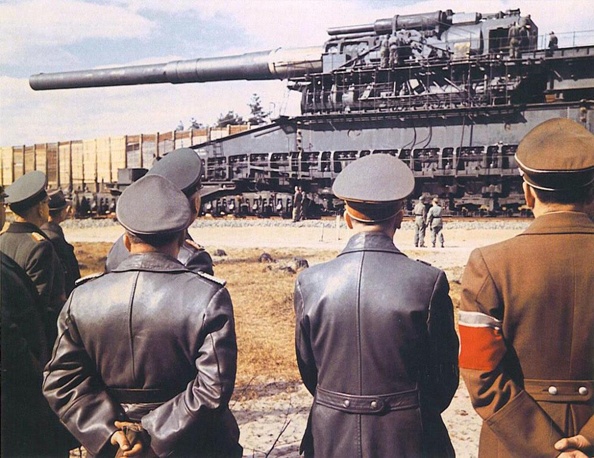 گوستاو بزرگترین جنگ افزار
