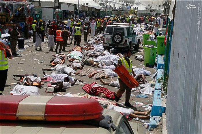 تصاویر جدید از حادثه منا