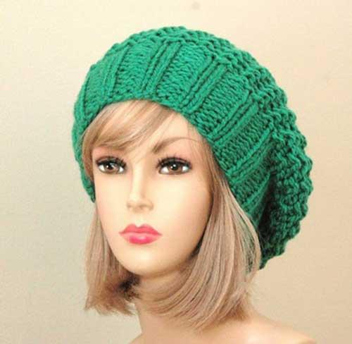 جدیدترین مدل کلاه و شال گردن بافتنی دخترانه
