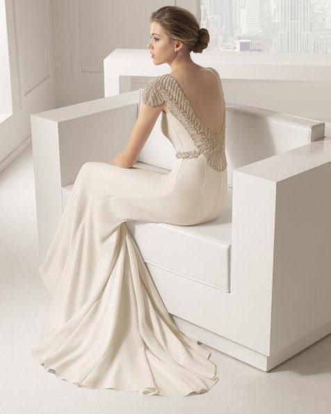 شیک ترین مدل لباس عروس 2016 تک