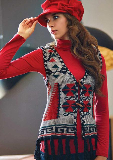 مدل لباس زمستانی بافت 2016