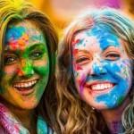 عکس های زیبا از جشن هولی در روسیه