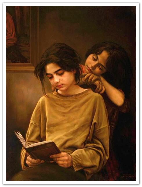 البوم نقاشی ایمان ملکی
