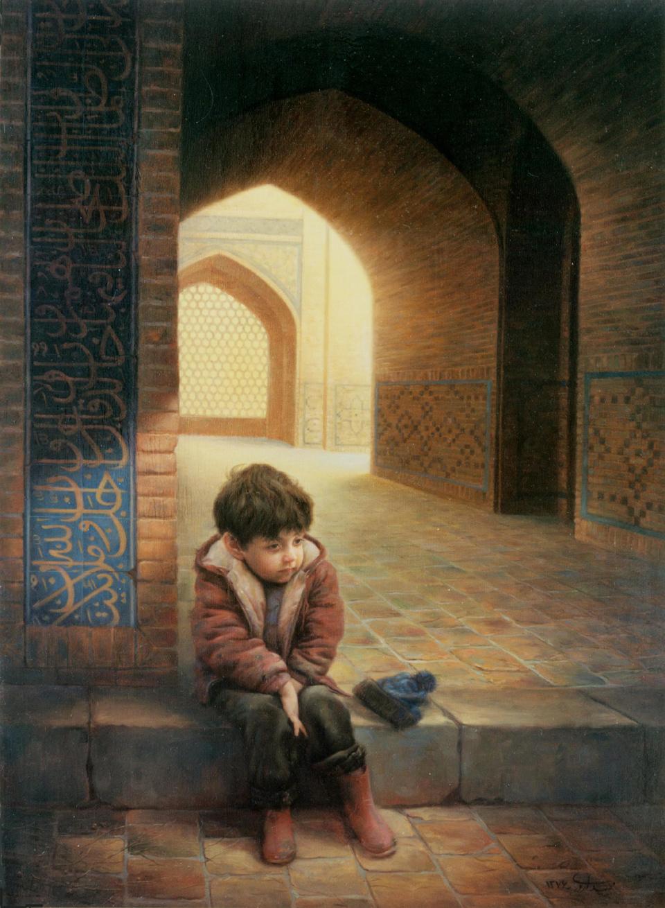 گالر نقاشی مجید اروری