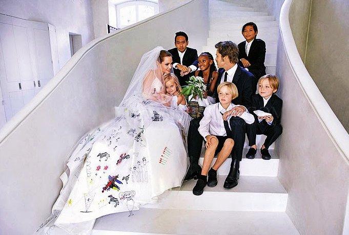 انجلینا جولی و فرزندانش